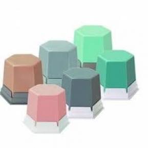 GEO cera adhesiva rosa transparente 75 g