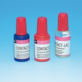 CONTACT-LAC PINTURA FLUIDA 20ml Rojo