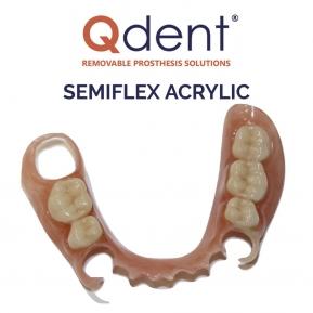 QDENT SEMIFLEX ACRYLIC LIQUIDO 500 ML PARA BASE
